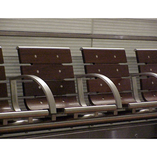 plateform seating-benches - metro meteor